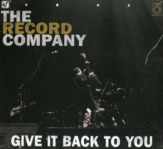 THE RECORD COMPANY GIVE IT BACK TO YOU CD DIGIPACK NUOVO SIGILLATO !!