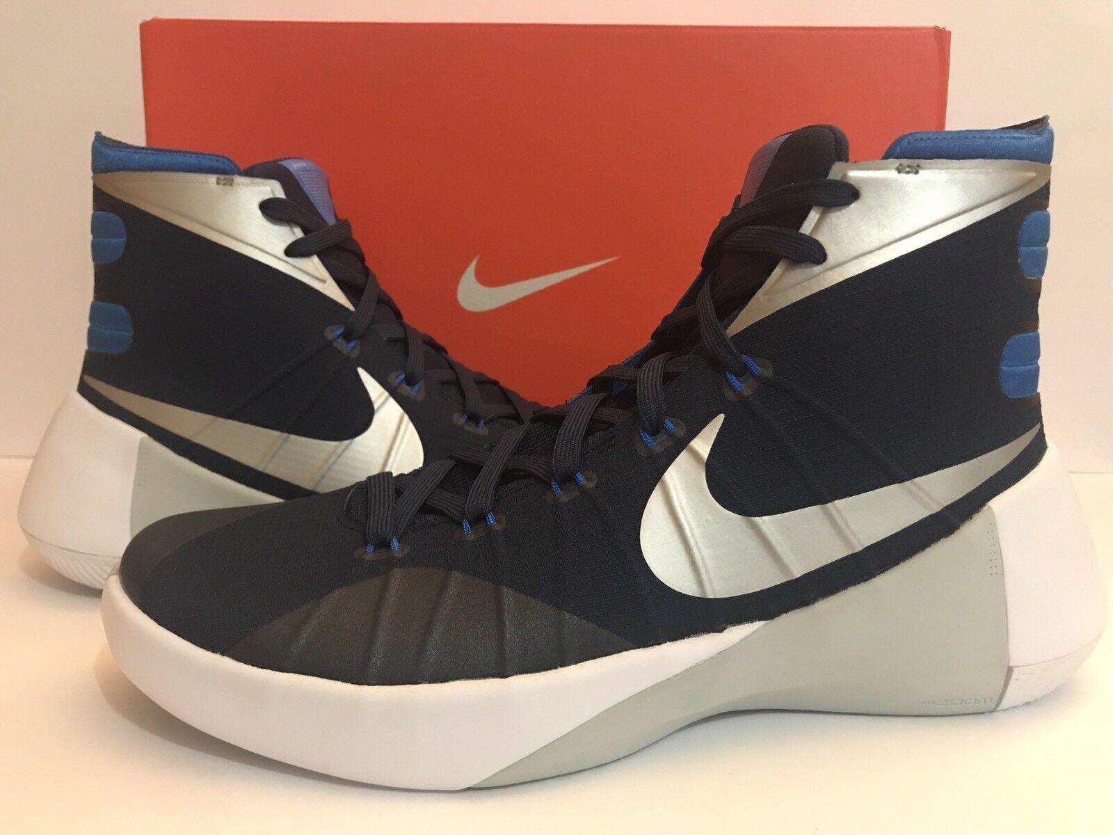 Nike hyperdunk 2015 11,5 749645-405 mignightnavyBlauWeiß sz 11,5 2015 624c26