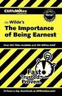 CliffsNotes on Wilde's  The Importance of Being Earnest by Susan Van Kirk (Paperback, 2003)