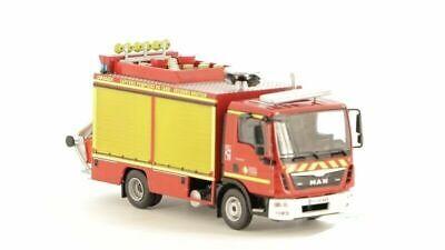 MAN TGL 8 200 Gimaex 1:43 Ixo Hachette Fire truck firefighters Diecast