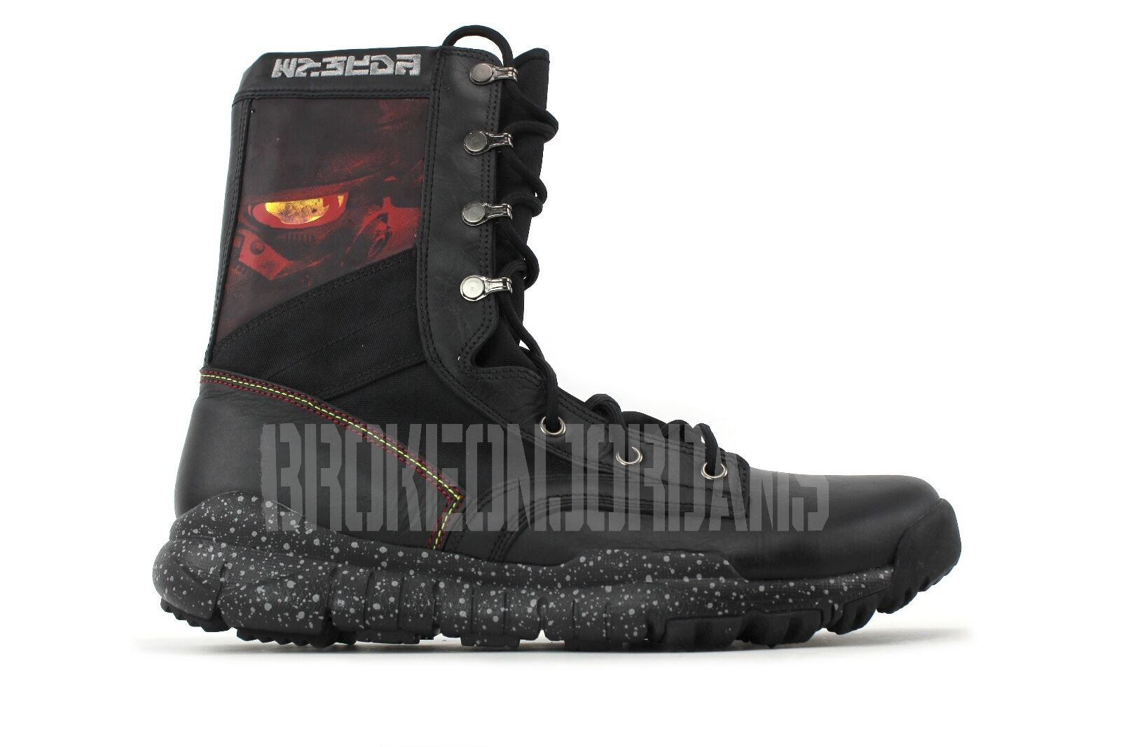 Nike SFB TZ KILLZONE PLAYSTATION BLACK RED sz 11.5 promo sample 2010