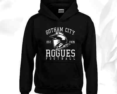 Gotham City Rogues Hoody Hoodie Bruce Wayne Batman Comic Book Superhero Gift Top
