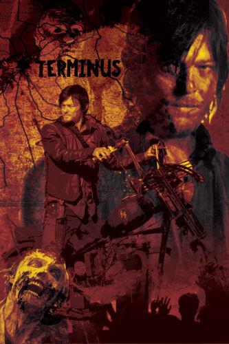 The Walking Dead 9 mega print lot 11 x 17 high quality posters