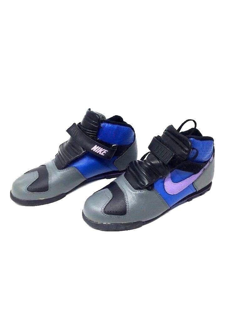 Nike Air fatz ATB prototipo 1988 purpura azul 1988 prototipo Vintage Jordania muestra 9,5 A4 el último descuento zapatos para hombres y mujeres 681a77