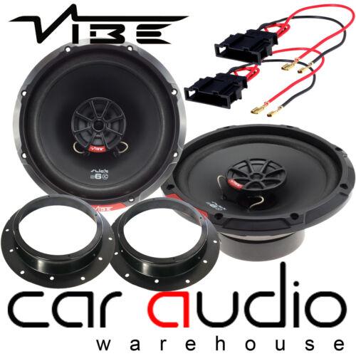 VW T5.1 2010-2014 Vibe Slick 6 480 Watts 2 vías puerta altavoces del coche Kit