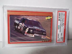 1992-Maxx-Red-Dale-Earnhardt-PSA-NM-MT-8-5-Racing-Card-203-NASCAR-Collectible