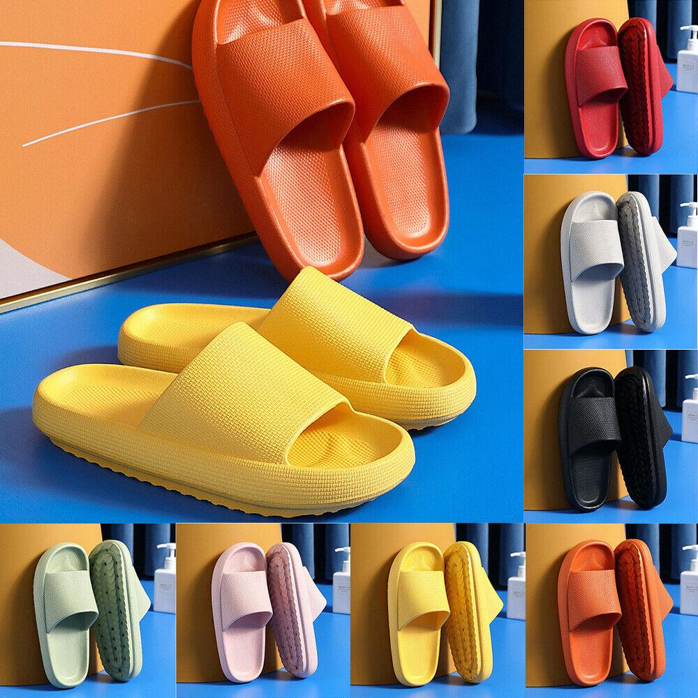 PILLOW SLIDE Sandals Ultra-Soft Slippers Extra Soft Cloud Shoes Anti-Slip Unisex