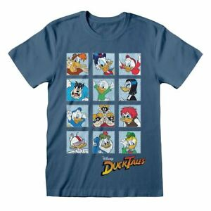 Men's Disney DuckTales Squares Crew Neck T-Shirt