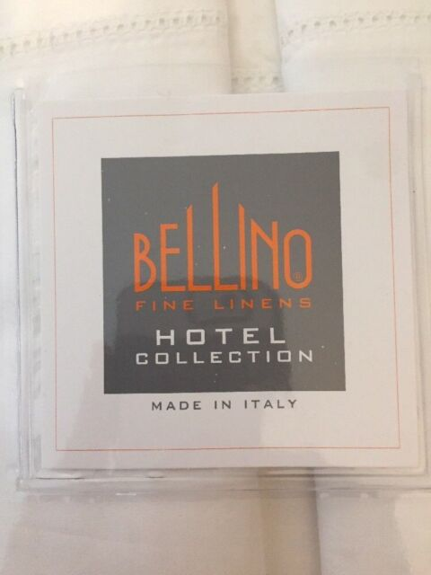 Bellino Italy King Sheet Set White Hemstitch Luxury Egyptian Cotton Percale For Sale Online Ebay,Most Beautiful Places To Visit In The Us In September