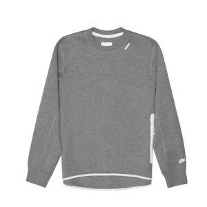 Nike Tech Fleece Crew 1MM (Grey) | Style for him | Nike tech