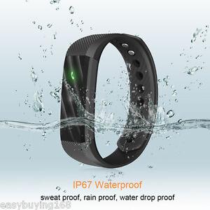 Diggro ID115 Smart Reloj Pulsera BT Podómetro Deporte Correr Call For iPhone HTC
