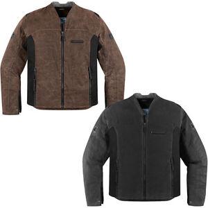 Icon-1000-Oildale-cire-heritage-Veste-moto-tout-couleur-amp-taille