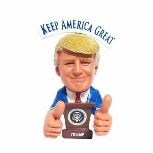 Presidential Thumbs Up USA President Donald Trump With 2020 Red Hat Statue