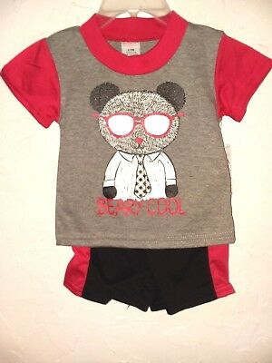 SWIGGIES Toddler Girls Size 3//6,/& 6//9 Mos Premium Pink 3 Pc Outfit W//Hat Special