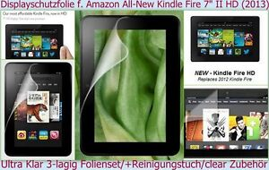 Display-Schutz-Folie-AMAZON-Kristall-klar-Clear-Tab-let-Zubehoer-Crystal-Screen