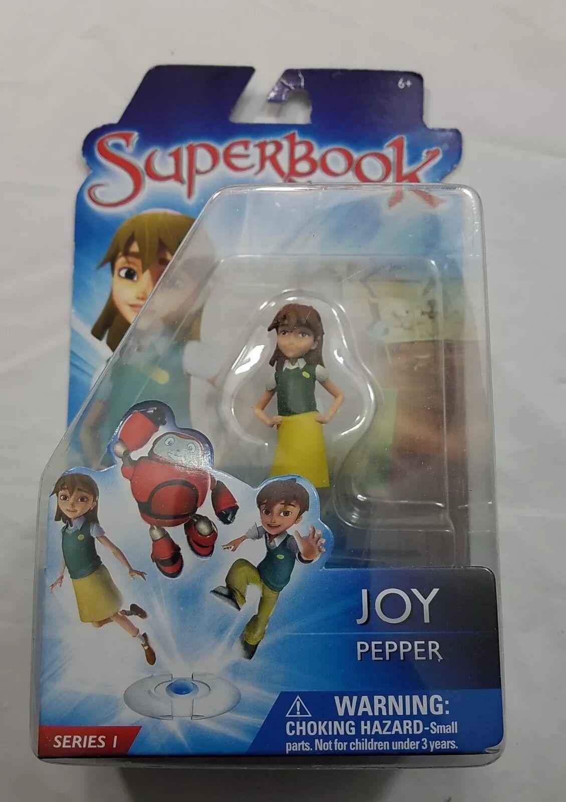 Superbook Joy Pepper Series I Action Figure Toy Girl Bible Adventure