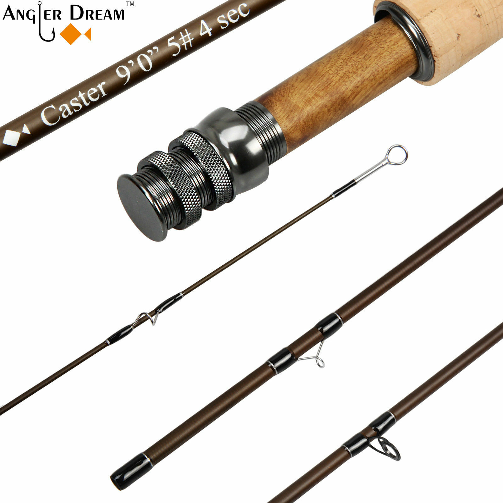 Caster Fly Rod 8'4  9' 3 5 8WT Graphite IM 8  30T Carbon Fiber Fly Fishing Rods