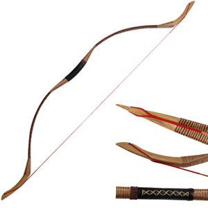 30-55 LB Tir à l'arc Traditionnel Recourbé Arc de chasse mongol cheval BOW SHOOTING