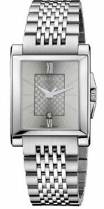 3b7f7076e3c Gucci Men s G-Timeless Silver Dial Stainless Steel Bracelet Date At ...