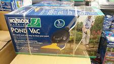 HOZELOCK PONDVAC POND VACUUM CLEANER VAC HOOVER KOI FISH WATER SILT REMOVER