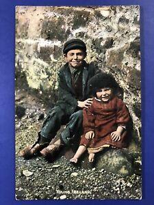 034-Irish-Life-034-Tuck-Publ-4412-Antique-Postcard-VG-1906-For-Collectors-Value