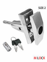 T Handle Vending Machine + Pop Up Pagoda Cylinder Lock W 2 Keys Vendo Size 2