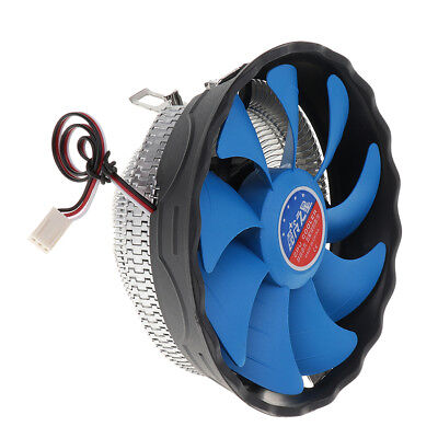 Computer Quiet Cooling Fan CPU Cooler Copper for AMD Socket AM2//AM3//FM1