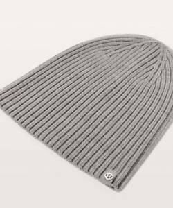 615db65db77 Lululemon Women s Wool Be Cozy Toque Beanie Hat Heathered Core ...