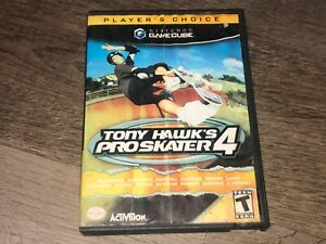 Tony Hawk's Pro Skater 4 Nintendo Gamecube w/Case Authentic