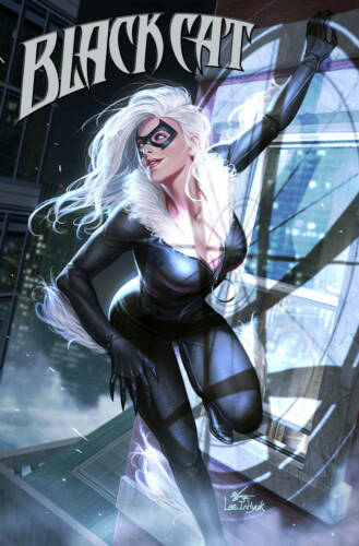BLACK CAT #3 In-Hyuk Lee Variant NM or better