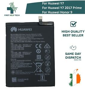 Details about For Huawei Y7 / Y7 2017 Prime / Honor 9 Genuine Battery  4000mAh HB396689ECW New