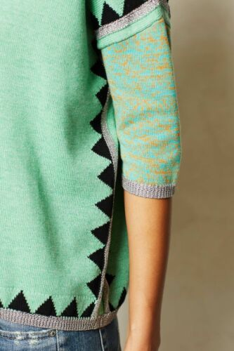 Details about  /NWT ANTHROPOLOGIE SHIMMERED SWING SWEATER by PAUL /& JOE SISTER M