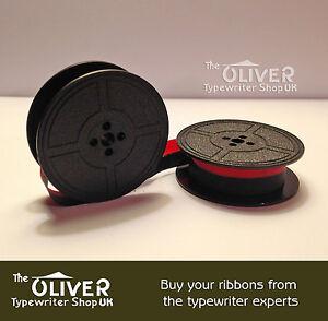 Antares Typewriter Ribbon Blk//Red Twin Spool