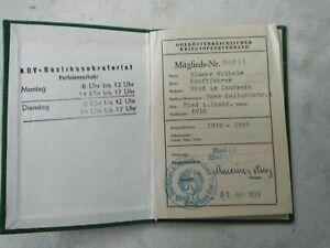 altes-Kriegsopferverband-Mitgliedsbuch-Ried-i-Innkreis-Oberoest-1973-A1556