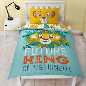 Officiel-Lion-King-Hakuna-Set-Housse-de-Couette-Simple-Coton-Melange-He-Jungle