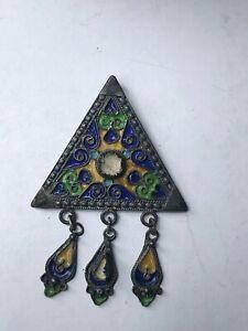 broche-pendentif-berbere-en-argent-massif-ethnique-kabyle-email