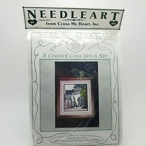 Counted-Cross-Stitch-British-Shorthair-Kitty-Cat-Lover-Buffington-Vintage