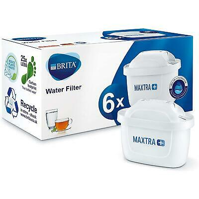 6 x Universal Limescale Water Filter Cartridge for Brita Maxtra Refill