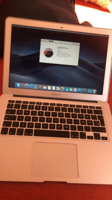 MacBook Air, Mid 2011, Intel 1,8 GHz i5 core GHz, 8 GB ram,…
