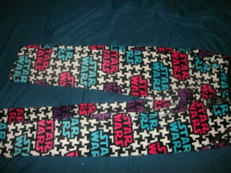 Star Wars Ladies Lounge Sleep Fleece Pajama Pants Xs, M, Or L Soft & Warm! (b160