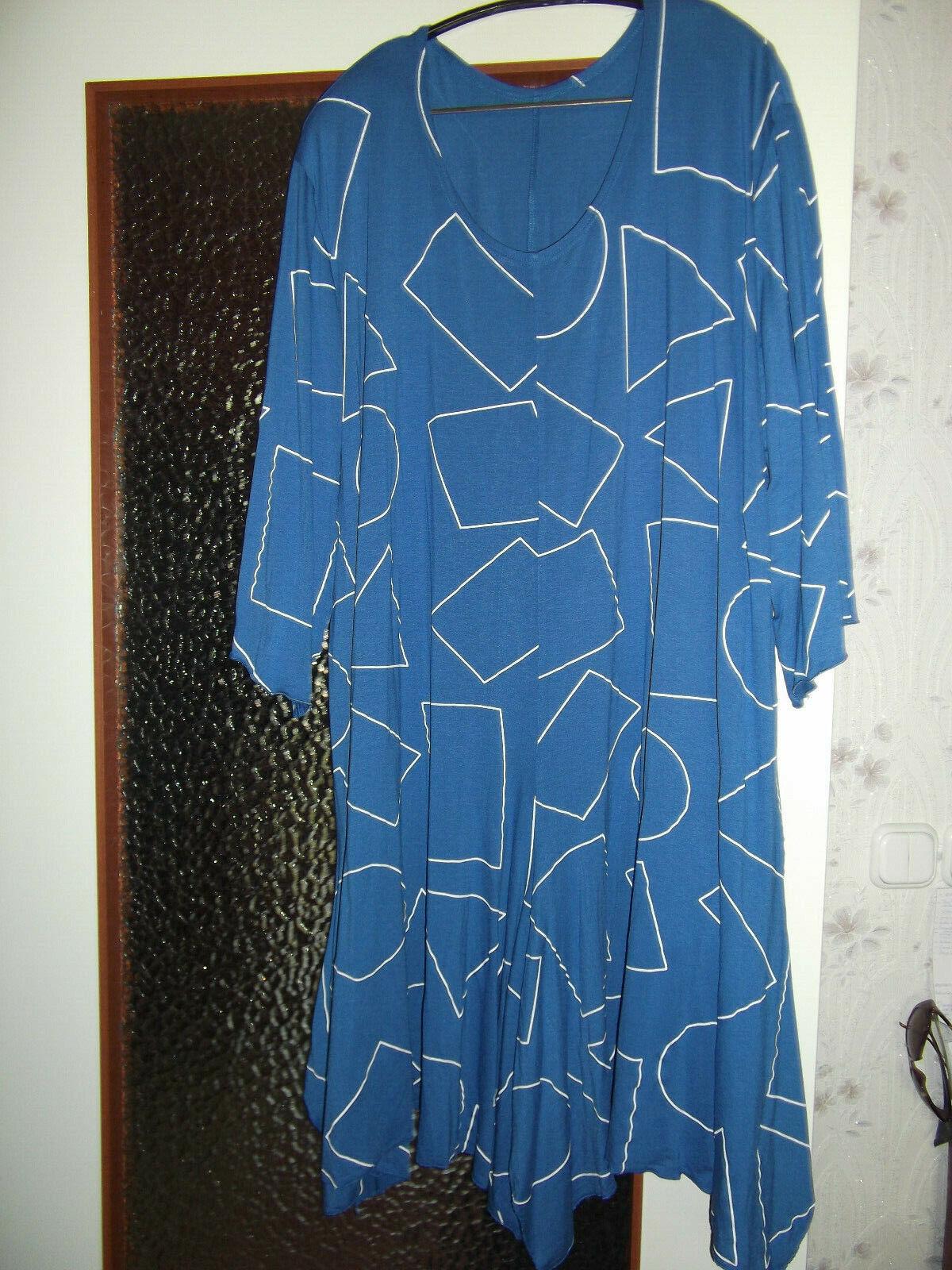 Damen Sommerkleid Mari Dago( 54),56,58 blau