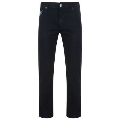 Brillant Kam Regular Fit Stretch Jeans (kbs10106), Black Colour In Size 40 To 64 Inches