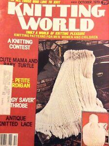 Knitting World Magazine A Knitting Contest October 1979 052018nonrh