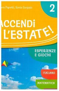 Accendi-l-039-estate-classe-2-libro-vacanze-scuole-primarie-Pearson-i-Pinguini