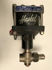 Haskel Df B60 51345 Air Driven Liquid Fluid Pump 676 Bar 9800 Psi 601 Ratio