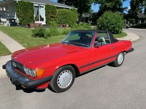 1988 Mercedes 560SL Mint Only 135k KMS Originally Vancouver Car