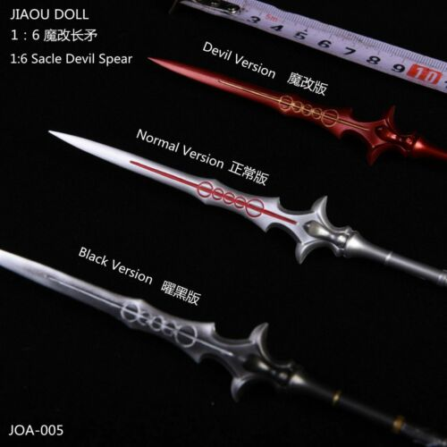 1//6 Scale Spears Weapon Model Toy J0A-005 Scene Accessory F 12/'/' Solider Figure