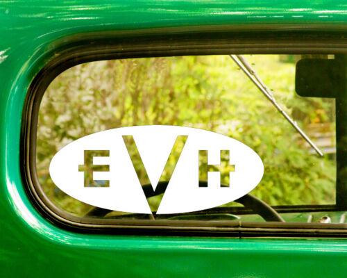2 EDDIE VAN HALEN BAND DECAL Bogo Stickers For Car Truck Window Bumper Laptop