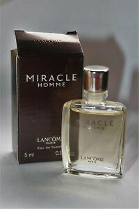 Boite Lancome H 3 Détails 5 Ancien Miracle Sur Avec Cm Miniature Parfum xBedCo