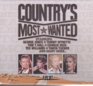 NEW-CD-COUNTRY-039-S-MOST-WANTED-3CD-SET